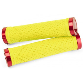 Sixpack K-Trix Lock-On Bike Grips yellow/red